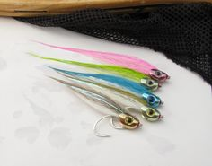 Bucktail Baitfish :: Flymen Fishing Company