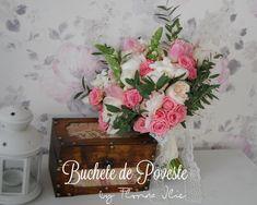 Pink bouquet Pink Bouquet, Floral Wreath, Decorative Boxes, Wreaths, Design, Home Decor, Horsehair, Decoration Home, Room Decor