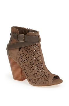Love the look of these, perfect twist on the normal open toe bootie