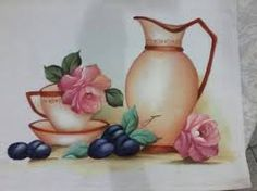 Resultado de imagen para pinturas em bules e chaleiras