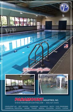 YMCA chose Paramount luminaires to illuminate Wet Location Pool areas…  For more information, see this link: http://www.paramountlighting.com/learn/2017/06/07/ymca-chooses-paramount-luminaires-illuminate-wet-location-pool-areas/#more-700