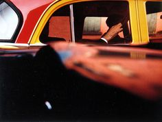 Taxi, 1957 ©Saul Leiter, Courtesy Howard Greenberg Gallery, New York