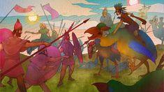 Interactive Stories, Fantasy World, Dragon, Wallpaper, King, Painting, Image, Wallpapers, Painting Art