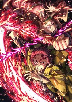 Read Demon Slayer / KimetsuNoYaiba-Online Best Manga Online in High Quality Manga Anime, Fanarts Anime, Anime Demon, All Anime, Otaku Anime, Anime Boys, Anime Characters, Manga Girl, Demon Slayer