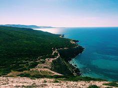Northern-most African coast (Cap Blanc)