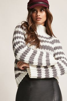 Product Name:Stripe Turtleneck Sweater, Category:sweater, Price:35