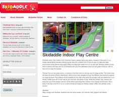 http://www.thecreativecollective.com.au/portfolio-web-design    This was a fun project to get off the ground - a new indoor playground for kids on the Sunshine Coast. Working alongside Skidaddle brought out the kid in us all!