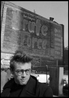 James Dean photographed by Dennis Stock, New York, 1955