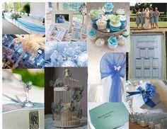 Blue theme, Winter or Butterflies <3