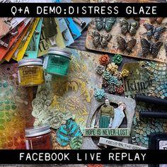 Distress Ink Techniques, Embossing Techniques, Art Techniques, Tim Holtz Blog, Vintage Cigar Box, Alcohol Markers, Alcohol Inks, Tim Holtz Distress Ink, Mixed Media Tutorials