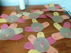Name turkey toddler craft