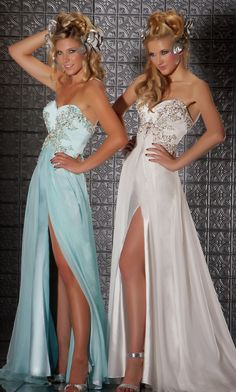 Full Length Strapless Formal Gown CS-MD-78593M