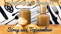 Topinambur Sirup - gesundes Süßungsmittel - Topinambur Rezept