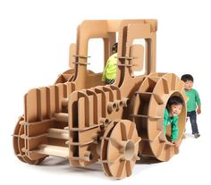 Cardboard tractor / MASAHIRO MINAMI