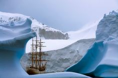 Interview: René Koster's Amazing Journey to Antarctica on a Historic Ship Built in 1911 - My Modern Met