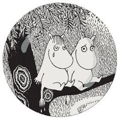 Love this collection of Moomin Plate's