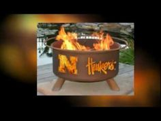 Support thr Alabama Crimson Tide Football team with this fire pit  FREE Shipping!