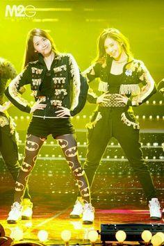 Yoona and Yuri - Live