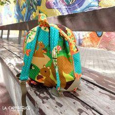 Tutorial: como coser una mochila para la vuelta al cole!