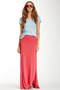 Cinema Maxi Skirt by Threads For Thought on @HauteLook