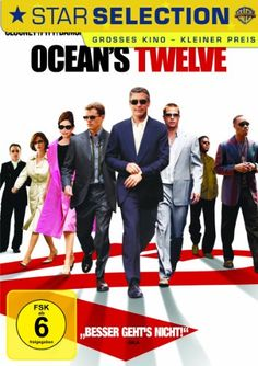 Ocean s Twelve  2004 USA        IMDB Rating  6,2 (143.078)    Darsteller:  Brad Pitt  Catherine Zeta-Jones  George Clooney  Ed Kross