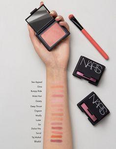 NARS Blush at ASOS. Kiss Makeup, Love Makeup, Makeup Inspo, All Things Beauty, Beauty Make Up, Everyday Make Up, Makeup Obsession, Makeup Swatches, Beauty Bar