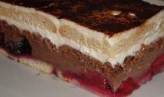 Nepečený pudingovo-tvarohový zákusok no bake pudding dessert Pudding Desserts, Trifle Desserts, Delicious Desserts, Slovak Recipes, Czech Recipes, Creative Cake Decorating, Creative Cakes, Other Recipes, Sweet Recipes