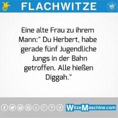 Flachwitze - Warum alle gleich heißen - Jugendsprache - Diggah