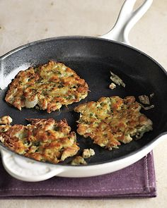 Potato and Chicken Hash Cakes- These look delicious!! #newyear #newyou