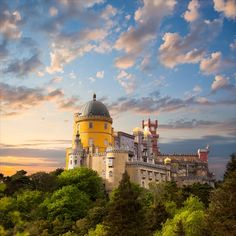 ペナ宮殿 ポルトガル