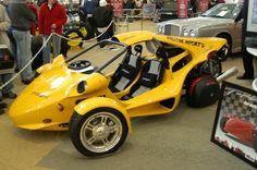 T-Rex Motorcycle Car   Campagna T Rex Car 2011
