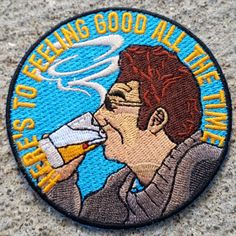 """3"""" embroidered patch You can either iron or sew it onOnly 100 made. Once they're gone, they're gone!"""