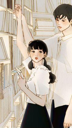 Cartoon Art, Anime, Wattpad, Fan Art, Manga, Artwork, Korea, Inspiration, Couples