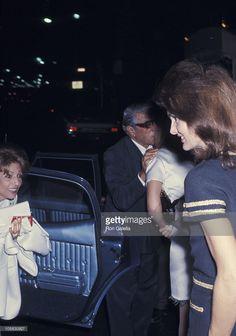 Jackie Onassis, Ari Onassis, and his sister Artemis Garofalides