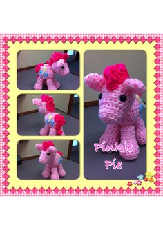 My Little Pony Pinkie Pie Crochet Amigurumi