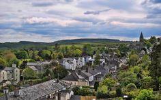 From the top of Tavistock.