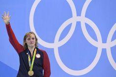 Katie Ledecky, swimming
