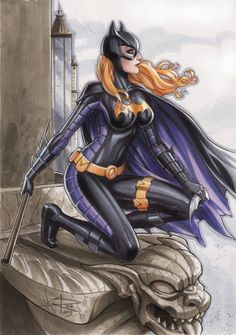 Batgirl - Stephanie Brown by Sabine Rich *