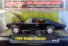 M2 MACHINES 2009 DETROIT-MUSCLE 1:64 1966 DODGE CHARGER FREE SHIPPING!!
