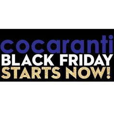 cocaranti | Black Friday has arrived early @cocaranti !! We have some amazing discounts with 20% off all AW16 stock and all mid season sale has now been reduced to 40% off 🙀🎅🏼🎁 come and join us in-store for fizz and nibbles or shop on-line for a limited time! *promotion excludes new season stock. We look forward to seeing you #cheshire #shoplocal #shoppingaddict #shopaholic #wishlist #celebritystyle #style #fashion #designer #love #lovewantneed #fashionblog #fashionblogger #blogger…