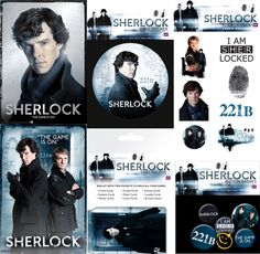 GB Posters and Sherlockology have joined forces to offer an exclusive bundle of Sherlock products!  In the bundle, at the discounted price of £20, you get: 1 x Sherlock Maxi Poster  1 x Sherlock Metallic Poster  1 x Sherlock Cardholder  1 x Sherlock Badge Pack  1 x Sherlock Single Sticker 1 x Sherlock Sticker Pack