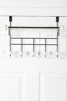 Over-The-Door Hang Rack $24 this could be helpful
