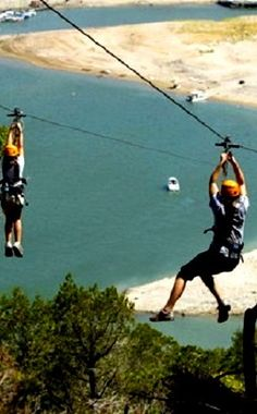 Lake Travis Zip Line Adventure  | Travel | Vacation Ideas | Road Trip | Places to Visit | Volente | TX | Other Sporting Facility | Lake | Sightseeing Tour | Other Adventure Sport | Tour | Tourist Attraction