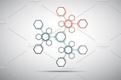 Abstract snowflake by NikSorl on @creativemarket