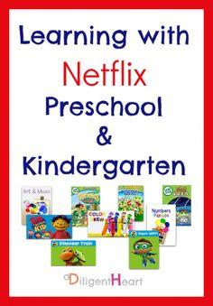 Learning with Netflix Preschool and Kindergarten