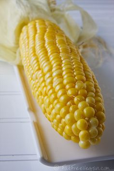 The absolute EASIEST way to cook corn on the cob. Made it Sunday - delicious :)