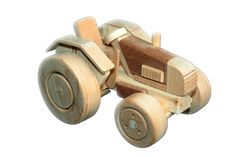 Wooden toys - wooden toy tractor Harvester