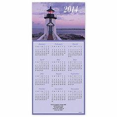 Order Lighthouse Z-fold Calendar | Beach Christmas Cards | Deluxe.com