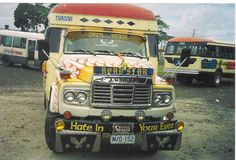 Samoan bus. #bus #samoa