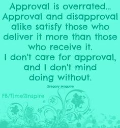 "Approval quote via ""Time 2 Inspire"""